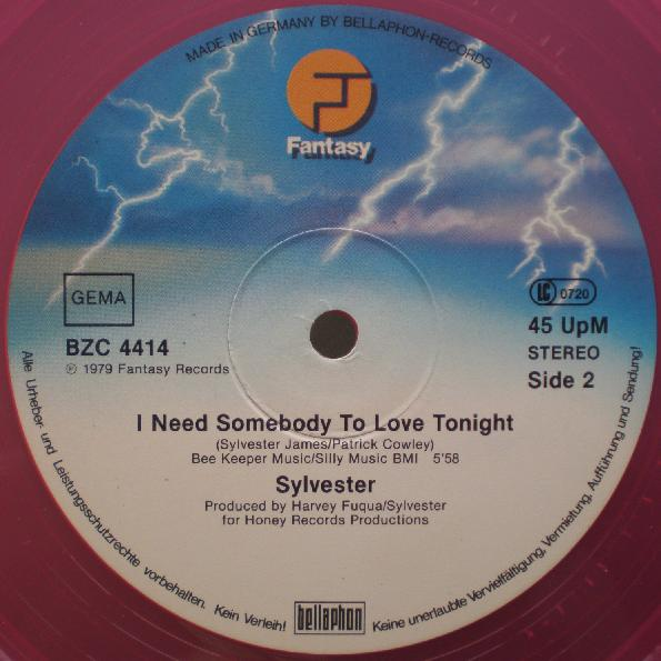 Sylvester_I need somebody to love tonight_Fantasy